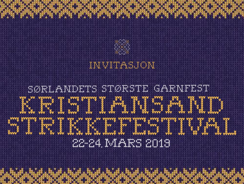 Endelig skal Sørlandet få sin egen strikkefestival!